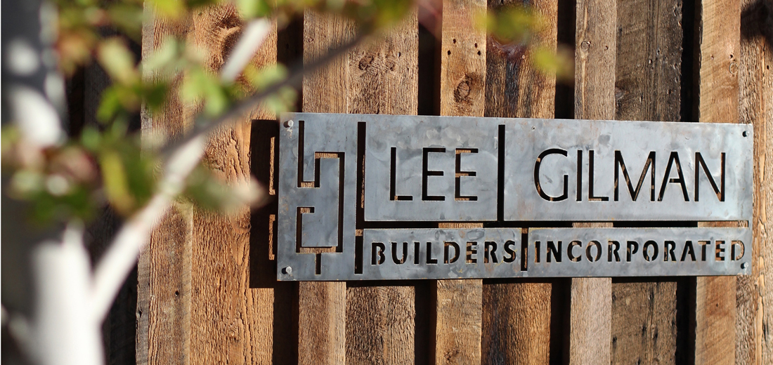 Lee Gilman office sign