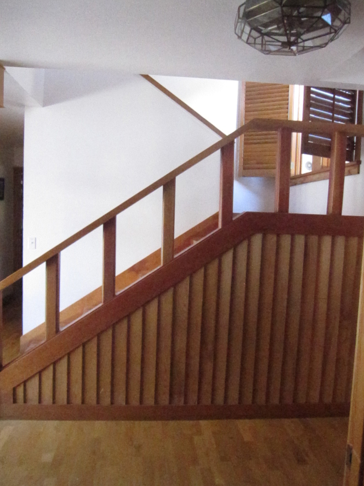 Warm Springs Staircase before